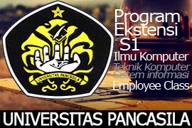 program ekstensi universitas Pancasila